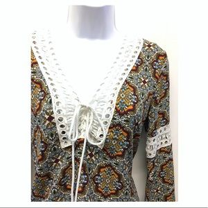 Romeo & Juliet Couture Tops - Romeo & Juliet Couture | Boho Bell Sleeve Blouse